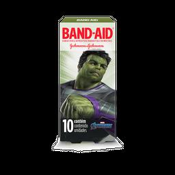 Curativo Band-Aid Avengers 10 Und