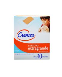Curativo Cremer Flexivel Extra Grande Transparente 10 Und