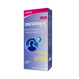 Decongex Plus 12/15 mg 1 Blister 4 Comprimidos