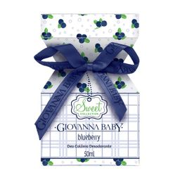 Deo Colônia Giovanna Baby Blueberry 50 mL
