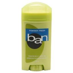 Desodorante Ban Classic Invisible Sólido Powder Fresh 73 g