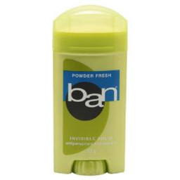 Desodorante Ban Classic Invisible Sólido Powder Fresh 73 g