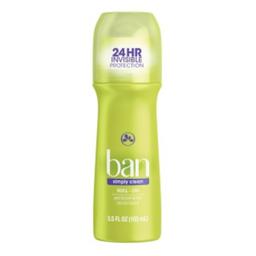 Desodorante Ban Roll On Simply Clean 103 mL