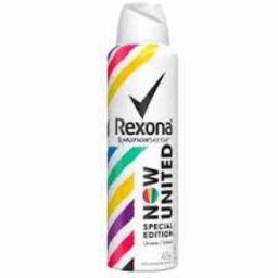 Desodorante Rexona Aerosol Now United Kit A 53 mL 4 Und