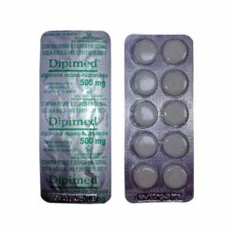 Dipimed 500 mg 10 Comprimidos