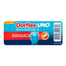 Dorflex Uno Enxaqueca 1 g Efervescentes 2 Comprimidos