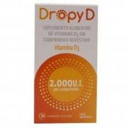 Dropy D 7.000Ui Revestidos 4 Comprimidos