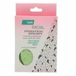 Esponja Facial Needs Esfoliante 2 Und