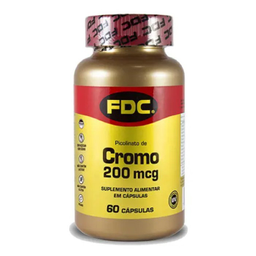 Fdc Picolinato De Cromo 200 mg 60 Cápsulas