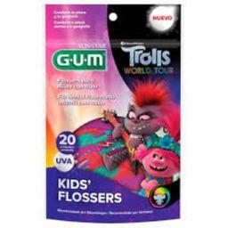 Fio Dental Gum Trolls 20 Und