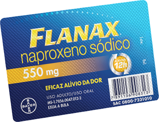 Flanax 550 mg 2 Comprimidos