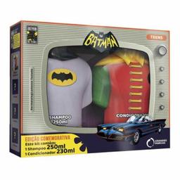 Kit Biotropic Batman 80 Anos Shampoo + Cond 230 mL 250 mL