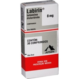 Labirin 8 mg 30 Comprimidos