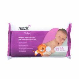 Lenços Umedecidos Needs Baby Recém Nascido 44 Und