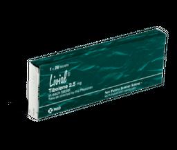 Livial 2,5 mg 28 Comprimidos