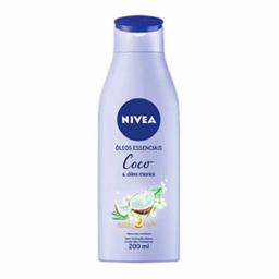 Loção Hidratante Nivea Body Coco 200 mL