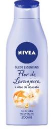 Loção Hidratante Nivea Body Flor De Laranjeira 200 mL