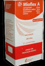 Mioflex A 12 Comprimidos