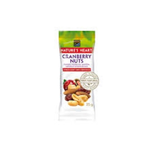Natures Heart Cranberry Nuts 25 g