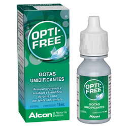 Opti Free Gotas Umidificante 15 mL
