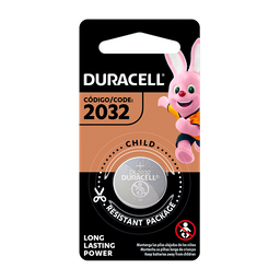 Pilha Duracell 1 De Litio 2032 Br