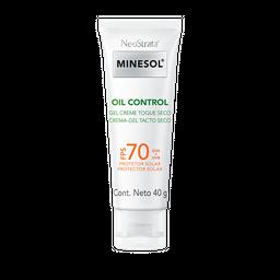 Protetor Solar Neostrata Minesol Oil Control Gel Sec FPS 70 40 g
