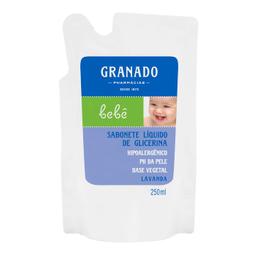 Sabonete Infantil Granado Glicerina Bebe Lavanda Refil 250 mL