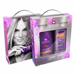Aussie Kit Shampoo Smooth + Máscara de Tratamento
