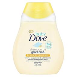 Shampoo Infantil Dove Baby Hidratação Glicerinada 200 mL