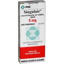 Singulair 5 mg Mastigaveis 30 Comprimidos