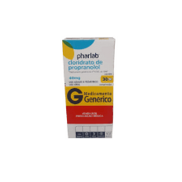 Sinvastatina 40 mg Pharlab Genérico 30 Comprimidos