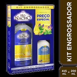 Tio Nacho Kit Engrossador Shampoo + Condicionador 200 mL 415 mL