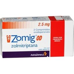 Zomig 2,5 mg 2 Comprimidos