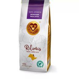 Café Grãos 3 Corações Rituais Mogiana Paulista 250 g