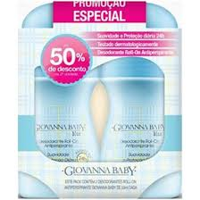 Giovanna Baby Kit Desodorante Roll-on Blue de Desconto Na 2° Und