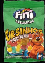 Bala Gelatina Fini Ursinhos Brilho 100 g