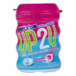 Bala Mentos Garrafa Menta Tutti Frutti Up2U 52 g
