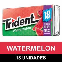 Chiclete Trident Watermelon 18S 30,6 g