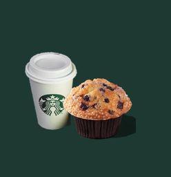 Café Filtrado + Muffin Blueberry