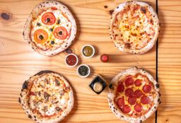 Combo  familia 4 pizzas