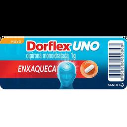 Analgésico Dorflex Uno Enxaqueca 1g 4 comprimidos
