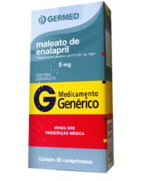 G Enalapril 20 mg Ger 30 Comprimidos