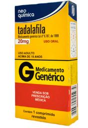 G Tadalafila 20 mg 1 Comprimido