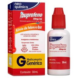 Ibuprofeno 50 mg Gotas 50 mL