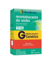 Montelucaste 4mg Geolab Genérico Comprimidos Mastigáveis 30 Und