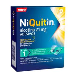 Niquitin 21 mg Perrigo 7 Und
