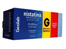 Nistatina Genérico Creme Vg + 14 Aplicadores Prati 60 g