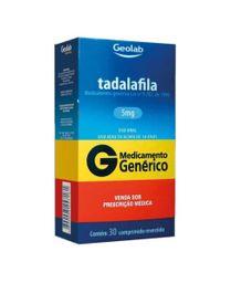 Tadalafila 5mg Cimed Genérico 30 Comprimidos