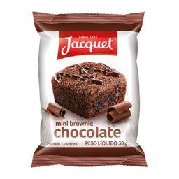 Brownie Mini Jacquet Chocolate ao Leite 30 g