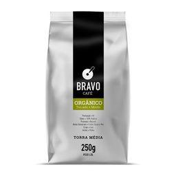 Café Bravo Moído/Orgânico 250 g